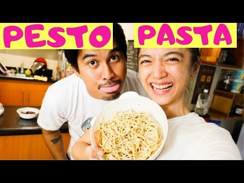 (Creamy) Chicken Pesto Pasta Recipe | Crisha Uy | #COOKINDAY 40