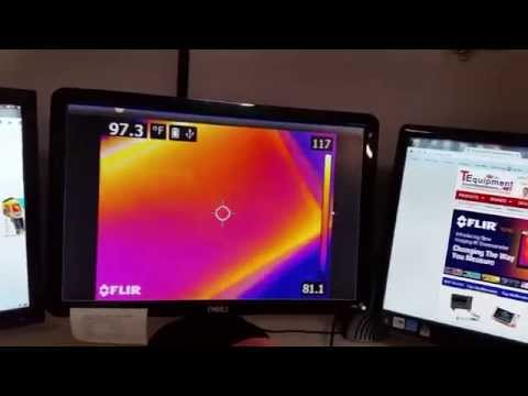 How to stream video from a FLIR C2/Ex/Exx thermal camera