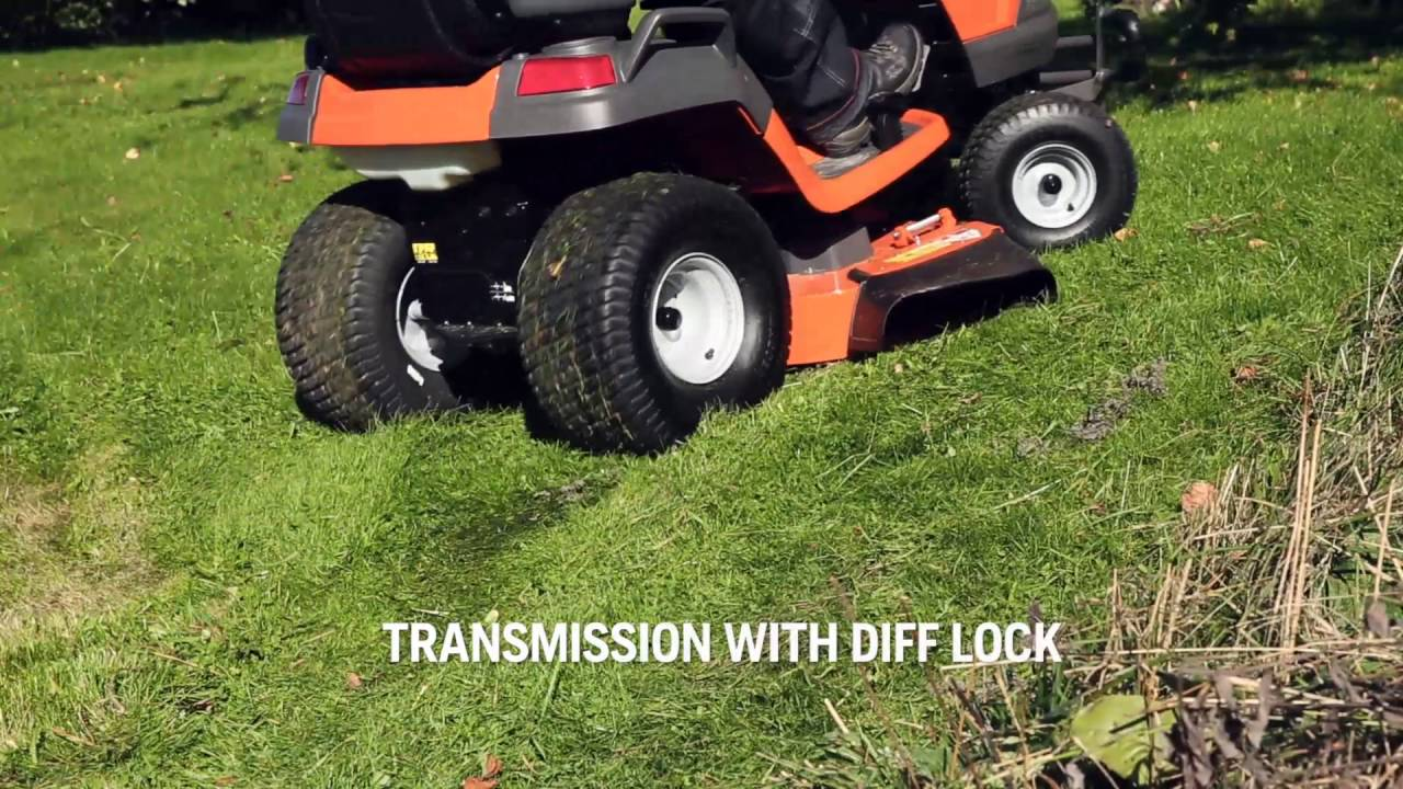 how the automatic diff lock transmission works on a husqvarna garden tractor - Husqvarna Garden Tractor