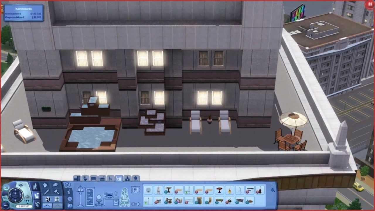 Sims 3 penthouse apartment building a house hd youtube - When building a house ...