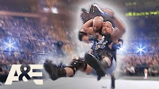 """WWE Biography: Stone Cold's """"Stunner"""" – The Best Finishing Move EVER!   A&E"""