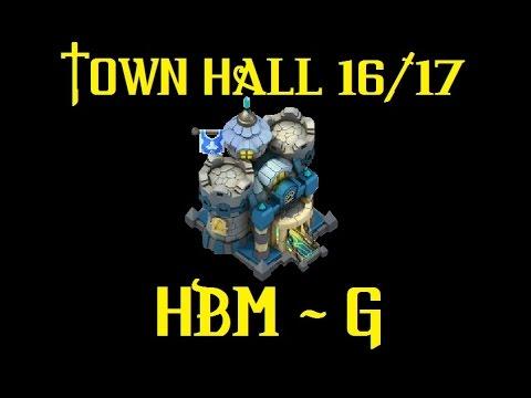 Castle Clash - Townhall Lvl 16/17 - HBM G