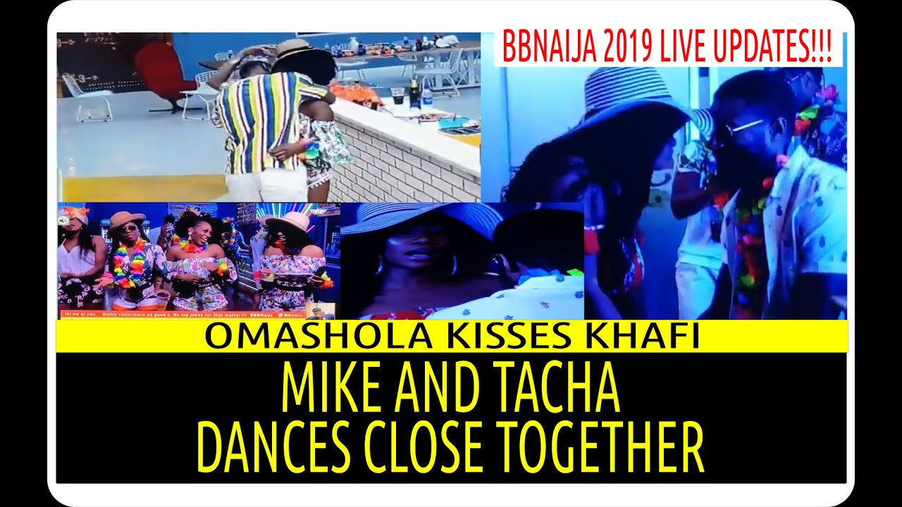 BBNAIJA 2019 11TH SATURDAY NIGHT PARTY | OMASHOLA & KHAFI K!S5 | MIKE AND TACHA DANCE CLOSE TOGE