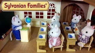 Лесная школа Сильваниан Фэмилис обзор + мультик с игрушками. Country Tree School