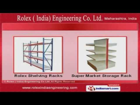 Retail Racks by Rolex India Engineering Co., Mumbai