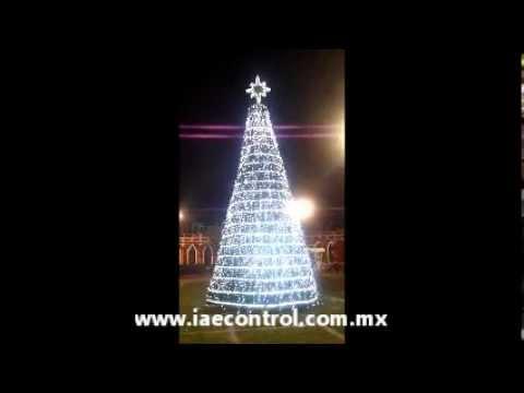 Controlador programable arbol de navidad parques y for Arbol de fuego jardin