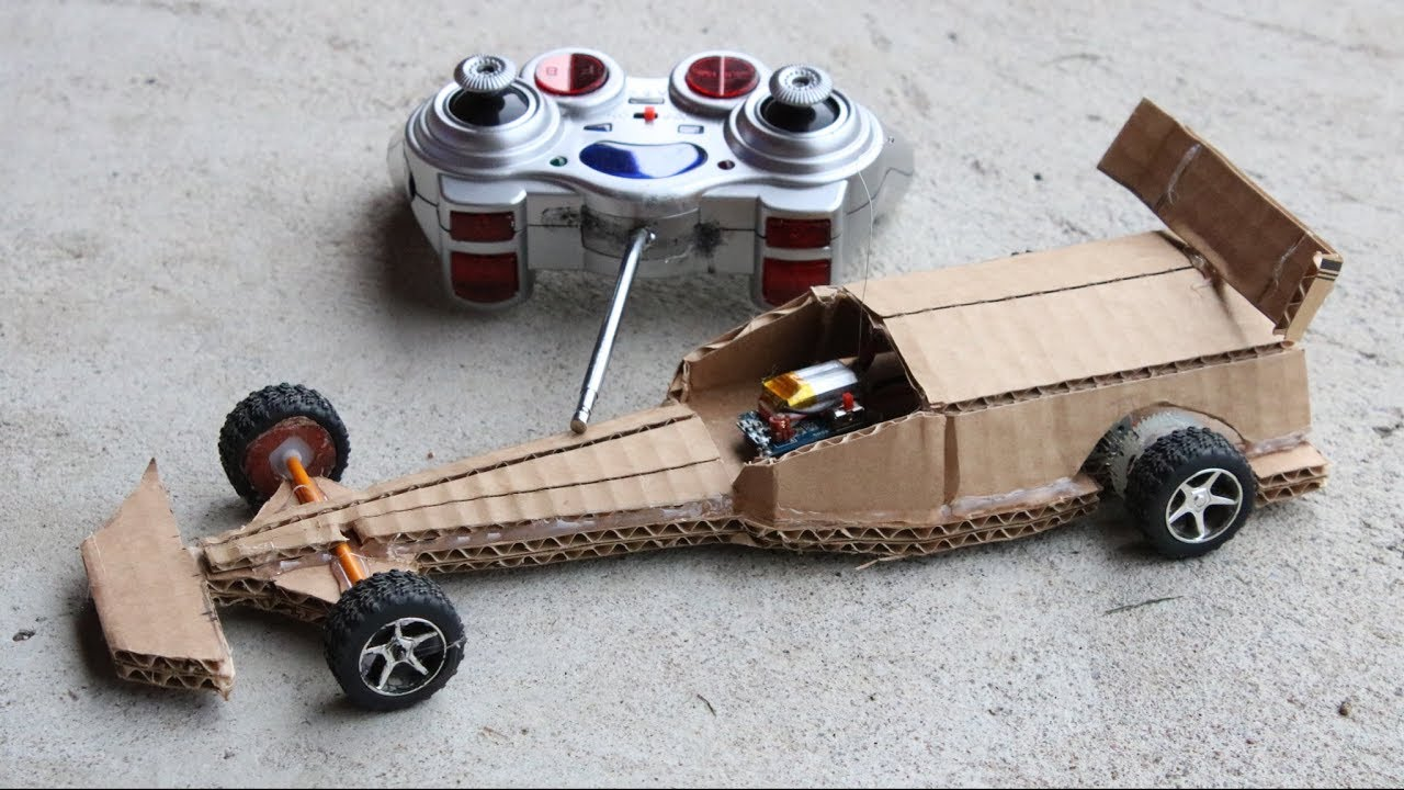 Amazing DIY F1 Racing Car