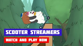 We Bare Bears: Scooter Streamers · Game · Gameplay