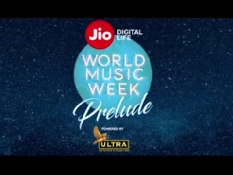 #JioWorldMusicWeek Prelude contest