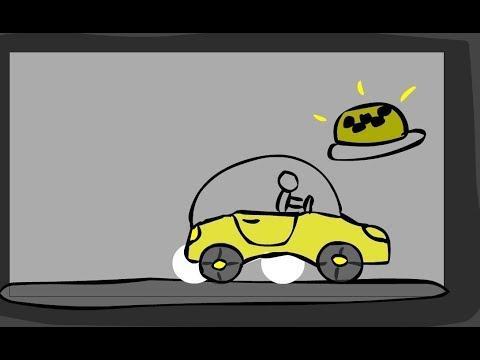 Работа в такси за 1 минуту