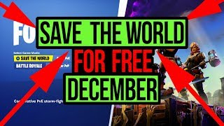 Fortnite Save The World For Free Glitch