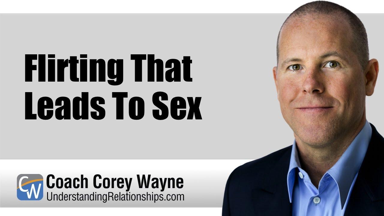 flirting leads to sex