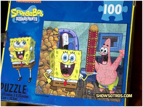 Spongebob Squarepants - 100-piece puzzle - YouTube
