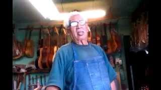 Eusebio Rincón Aguilar-3 Laudero Mexicano 60 años de experiencia