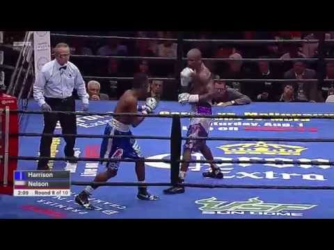 FULL FIGHT: Tony Harrison vs Willie Nelson - 7/11/2015 - PBC on ESPN