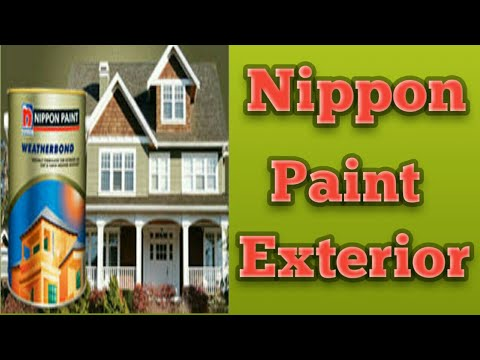 Exterior paint for nippon paint youtube - Nippon paint exterior collection ...