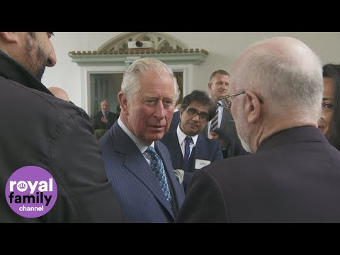 Prince Charles Visits The British Muslim Heritage Centre In Manchester