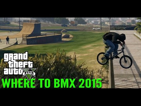 GTA 5 BMX - Where To BMX (Spot Locations 2015)