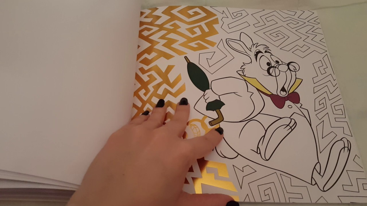 Coloriage Bestiaire Disney.Disney Carrement Colos Animaux Coloriages Dores A Completer Youtube