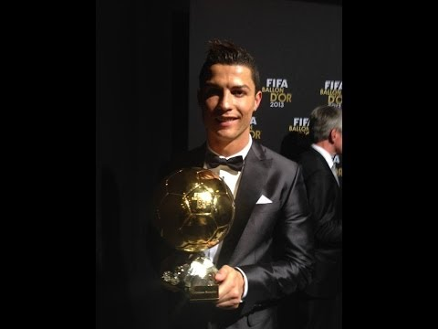 Cristiano ROnaldo Wins The 2013 Fifa Ballon d'Or  Award-