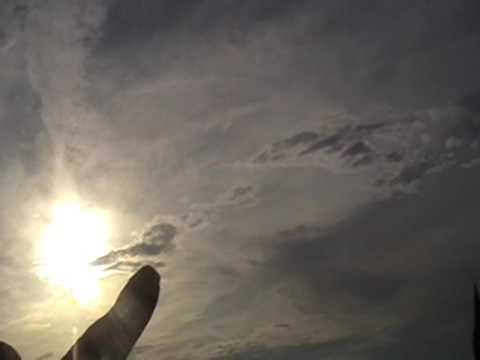 Sun blocked from chemical jet dumping;Ireland.
