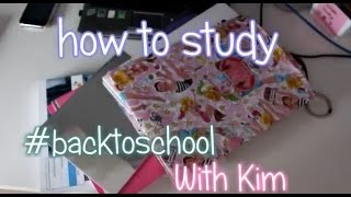 Back To School ♡ Study Tips Thumbnail
