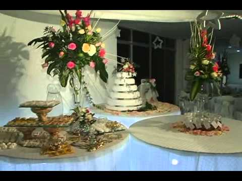Casa cristal 15 a os decoracion youtube for Decoracion quince anos