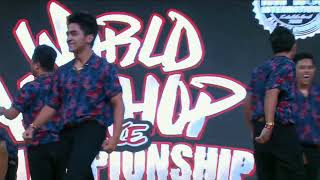 2018  World Hip Hop Dance Championship Finals - The Peepz (Philippines) BRONZE