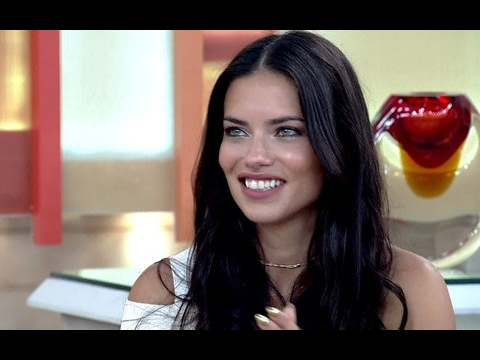 Adriana Lima interview in portuguese