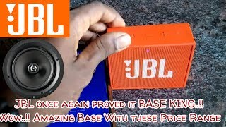 JBL GO - Bass test |EXTREME BASS TEST / JBL GO!! after Using 1 month