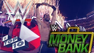 WWE Top 10 | Greatest Money in the Bank contract cash ins (Reaction)