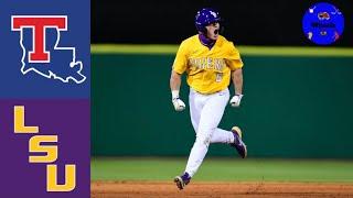 Louisiana Tech Vs #12 LSU Highlights | 2021 College Baseball Highlights