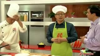 Китайская кухня -  Креветки в томатном соусе