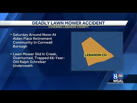 Man Dies In Lawn Mower Accident In Lebanon County
