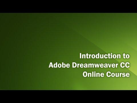 Dreamweaver CC Introduction Class   Part 2