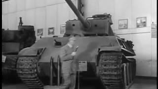 German Panther Tank at Aberdeen Ordnance Museum