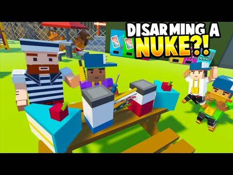Tiny Town - BIRTHDAY KID DISARMS NUKE AT THE PARK?! - Tiny Town VR Gameplay - HTC VIVE