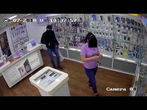 Ограбление салонов сотовой связи в Екатеринбурге