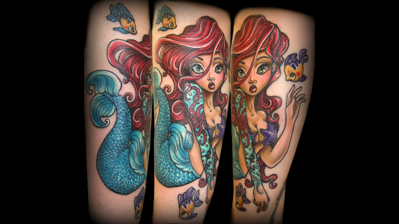 under the sea tattoo fullsleeve in progress by cira las vegas youtube. Black Bedroom Furniture Sets. Home Design Ideas
