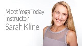Meet YogaToday Instructor Sarah Kline
