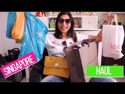 HUGE Singapore Haul | Changi Duty free, Watsons, Charles&Keath, Bugis Street, Korean skincare