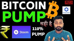 $6K NEXT? / BITCOIN BIGG PUMP!/  STEEM COIN 100% HARDFORK