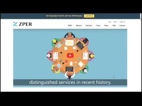 ZPER - Ecosystem For Decentralized P2P Finance