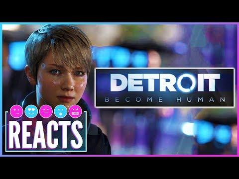 Detroit Become Human Behind Closed Doors at E3 2017 - Kinda Funny Games Reacts