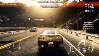 NEED FOR SPEED RIVALS PC CORVETTE stingray 2014 GAMEPLAY GT635M