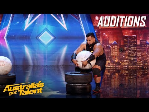 Eddie Williams Is A Strong Man With A Voice Of An Angel | Auditions | Australia's Got Talent 2019