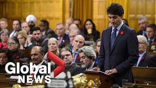 Justin Trudeau's full apology for Canadian government turning away MS St Louis refugees