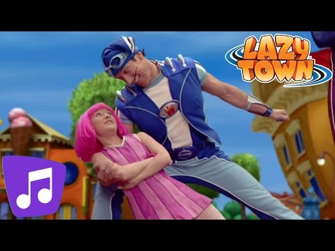 Lazy Town | Anything Can Happen Music Video