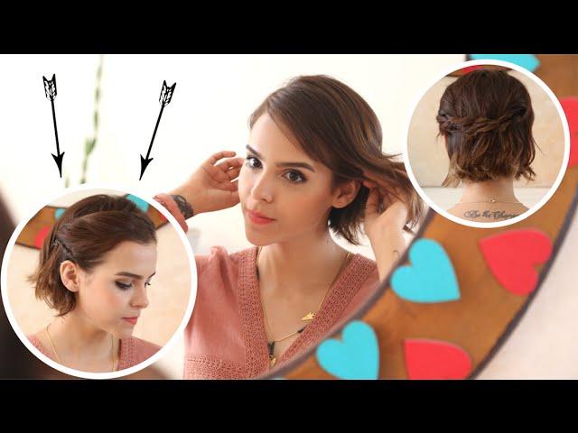 Peinados Para Pelo Corto Si Te Aburre Llevar El Pelo Suelto En