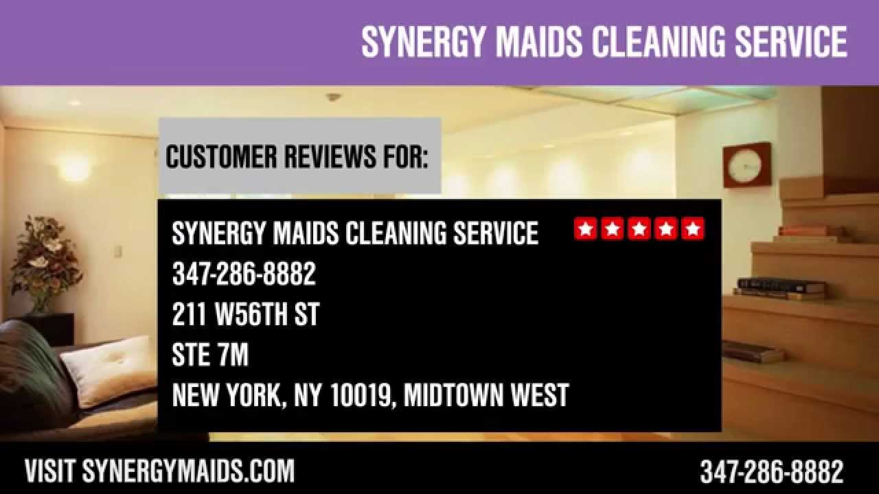 Synergy Maids Cleaning Service  REVIEWS  NYC Home And Office Cleaning  Services Reviews